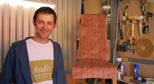 Andre Kalicki – the upholstery aficionado