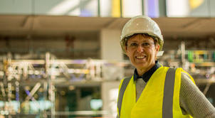 Julie Wood – the first lady of civil engineering